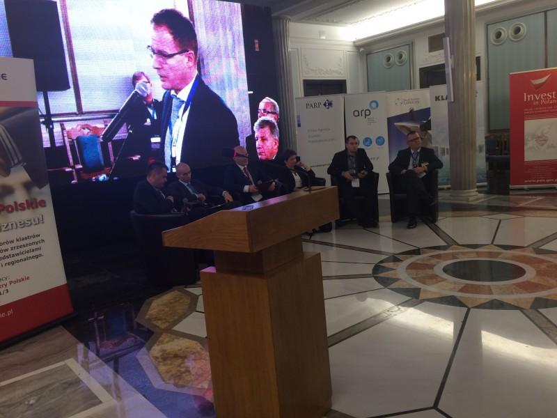 Konferencja w sali kolumnowej sejmu